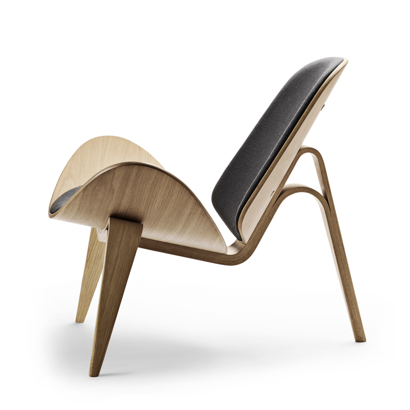 Ch07 Shell Chair Lounge Chair By Hans J Wegner Carl Hansen Søn